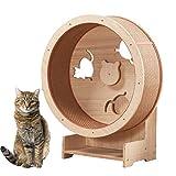 Ruota per gatti, mobili per animali domestici, struttura da arrampicata per gatti Lettiera per gatti Mobili per gatti Ruota da arrampicata per gatti Tapis roulant per gatti - Ruota per gatti