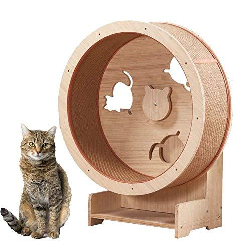 Rueda para correr para gatos, muebles para mascotas, marco de escalada para gatos Arena para gatos Muebles para gatos Rueda para trepar para gatos Cinta para correr para gatos - Rueda para correr p