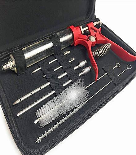 Eigenmarke Hobbymetzger-Pökel und Marinier Set komplett mit 4 Nadeln für alle Anwendungen in eleganten Etui