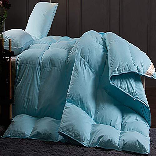 Productos para el hogar Four Seasons disponible Edredón de plumón multicolor Etiqueta de la funda nórdica de esquina Hipoalergénico Relleno de microfibra de plumón de ganso blanco Marrón 79 * 90.5i