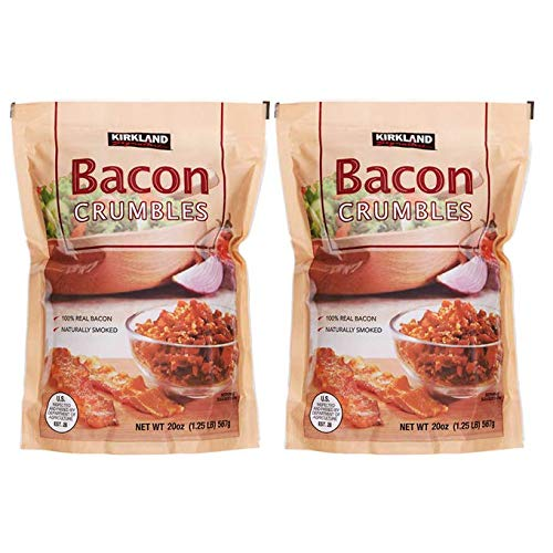 Kirkland Signature Crumbled Bacon Bits, 20 oz | 2 Pack