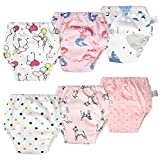 Best Lovely Baby Baby Potties - MooMoo Baby 6 Packs Cotton Training Pants Reusable Review