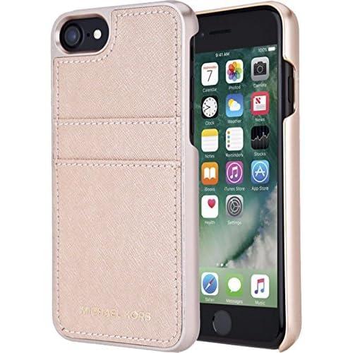 07a8e90badda5 Michael Kors Saffiano Leather Pocket for Apple iPhone 7 4.7 - Ballet