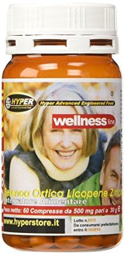 Hyper hyp0001031 PROSTA WELL Integratore Prostata con Serenoa Ortica Licopene 60 CPR 30 gr