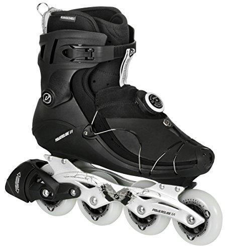 Powerslide Herren Inline-Skate VI SPC, Schwarz, 40