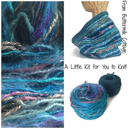 Boutique Teal Yarn Cowl