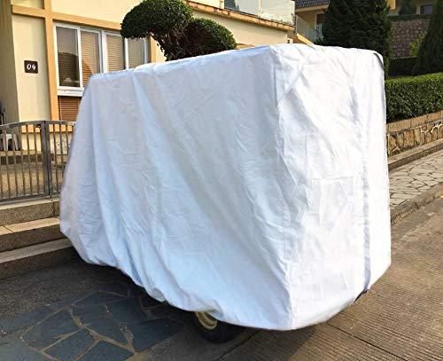 Himal 4 Passenger 400D Waterproof Sunproof Golf Cart Cover roof 80
