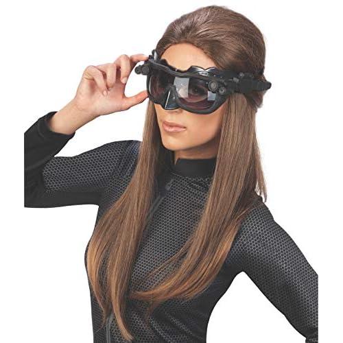 Rubie' s Catwoman Deluxe maschera di Batman–Taglia unica, nero