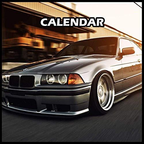 Bmw E36 M3 Calendar 2022 Planner Journal