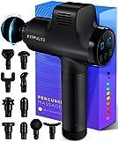 FITPULSE Muscle Massage Gun for Athletes - Percussion Massager Deep Tissue Massager Percussion...