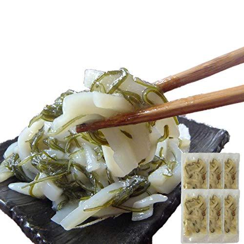 イカ屋荘三郎 珍味 いかさし昆布漬 60g ×6袋 国産 石川産 ギフト ヤマキ食品 #元気いただきますプロジェクト