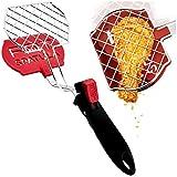 Fat Spatula Kitchen Tongs & Flipper 3-In-1 Turner Separator Diet Tool...