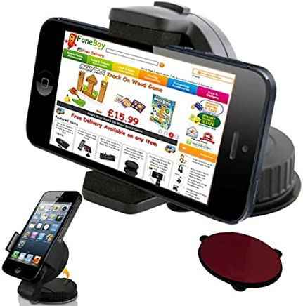 SODIAL(TM) Universal Soporte con Ventosa de Parabrisas de Coche para Apple iPhone 3G, 3GS, 4, 4S / iPod Touch 2G, 3G, 4G
