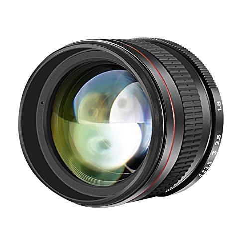 Neewer 85mm f/1.8 Lente Retrato Telefoto Asférica para Cámaras DSLR Nikon D5...
