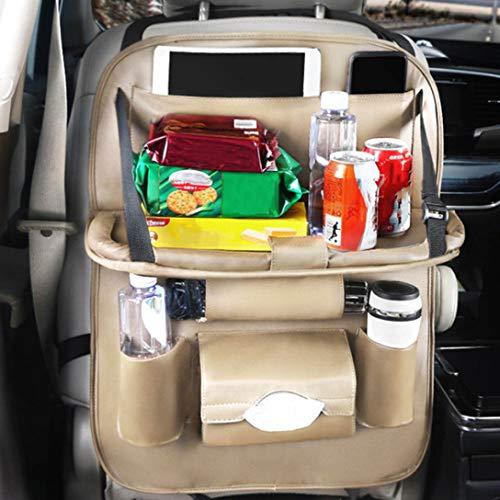 DWWW bijzondere auto stoel rugzak opvouwbare tafel organizer pad drinken stoel opslag zak
