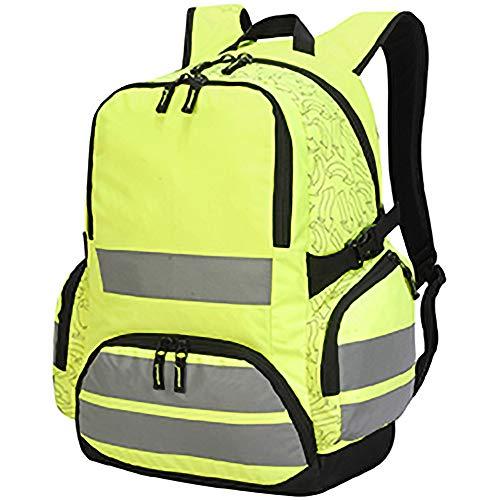 Shugon London - Mochila de alta visibilidad Pro Hi Vis (Talla Única/Amarillo fluorescente)