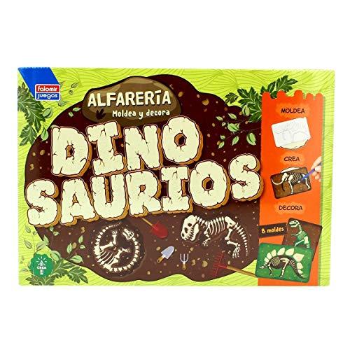 Falomir Alfarería Dinosaurios. Juego de mesa. Artístico
