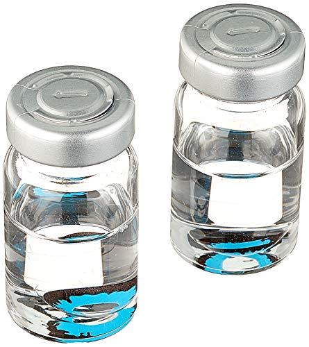 Funky Vision Kontaktlinsen - 3 Monatslinsen, Blue Elf, Ohne Sehstärke, 1 Stück