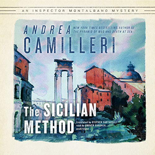The Sicilian Method Audiobook By Andrea Camilleri cover art