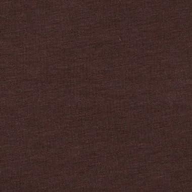 Robert Kaufman Kaufman Laguna Stretch Jersey Knit, Yard, Chocolate