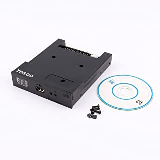 Yosoo フロッピードライブ usb エミュレータシミュレーション フロッピーディスクドライブ フロッピードライバ USB エミュレーターシミュレーション 5V DC 電源プラグ 電子オルガン