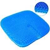 Best Gel Cushions - serene freestyle Gel Seat Cushion, Large Size Double Review