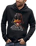 PIXEL EVOLUTION Sweat à Capuche Duck Vader Homme - Taille M - Noir