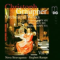 Orchestral Works by GRAUPNER (2004-11-23)