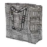 IKEA/イケア FISSLA キャリーバッグ36 L Mサイズ ホワイト/ブラック304.292.84