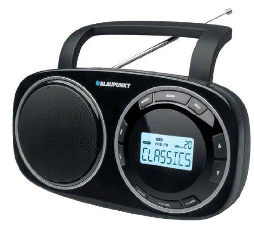 Blaupunkt BSD-9000 Table-Top Multi-Band digitales Radio mit Netzteil und Weltempfänger schwarz