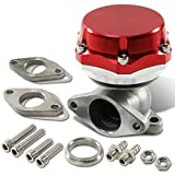 38mm Bolt-on 7/13/20 PSI External Turbo Exhaust Manifold Wastegate (Red)