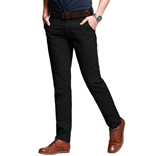 Match Men s Slim Stretchy Casual Trousers 8050 52efe5d64