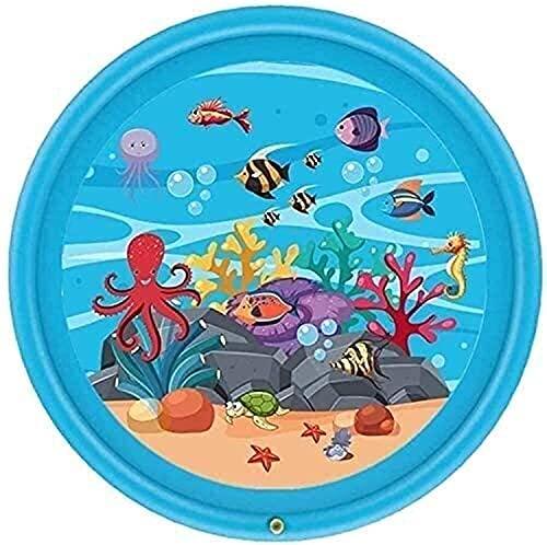 TYUXINSD Lovely Splash Pad Sprinkler Pad Espolvoree Pool Wading, Splash Inflable Toddlers Trampoline SprinklersParty Sprinkler