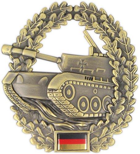 Original Bundeswehr Barettabzeichen aus Metall in verschiedenen Sorten zur Auswahl Farbe Panzertruppe