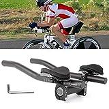 BSTQC - Manillar para bicicleta TT con llave Allen para triatlón y manillar de bicicleta