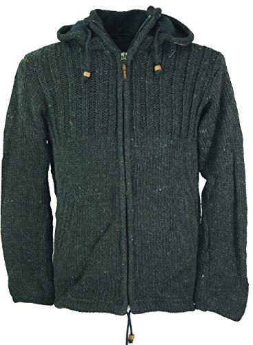 Guru-Shop, Vest Vest Wollen Jack Nepal Jacket, Jassen, Vesten en Poncho`s