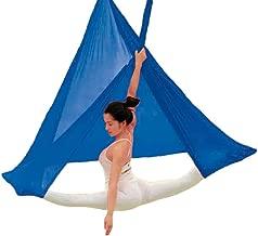 Hochelastische Yoga H/ängematte Inklusive Karabiner Befestigungsschale mit Daisy Kettenriemen f/ür Air Yoga Inversions/übungen Yoga Schaukel