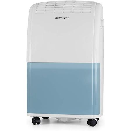 Orbegozo DH 2070 - Deshumidificador con capacidad deshumidificación 20L/día, refrigerante R290, depósito 3,6 L, área de aplicación 120 m2, sistema anti-congelación, 420 W