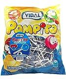 Pompito Pintalenguas - caramelo con palo - VIDAL - 200 Unidades
