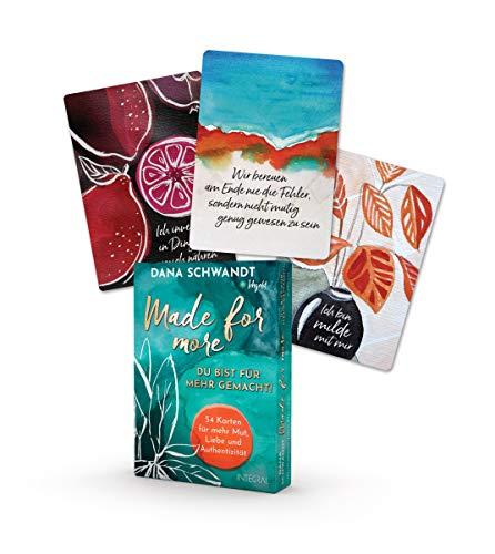 Made for more – Du bist für mehr gemacht! Das Kartenset.: 54 Karten für mehr Mut, Liebe und Authentizität