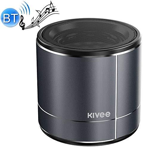 Bluetooth Lautsprecher Unterstützungs-TF & FM & Bluetooth Call (Schwarz) Asun, KV-MW02 Miniskirt-Radio Bluetooth-Lautsprecher (Color : Silver)