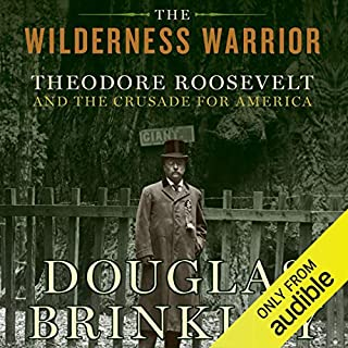 The Wilderness Warrior audiobook cover art