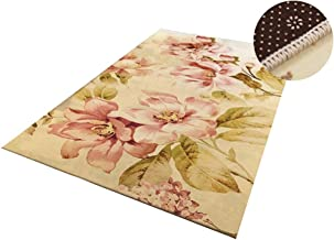 YANZHEN Hallway Runner Rugs Soft Cutable Non-Slip Blended Fabric, Multiple Sizes (Color : Yellow, Size : 1 x 3m)