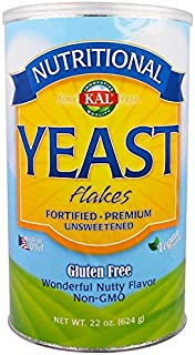 KAL, Nutritional Yeast Flakes, Unsweetened, 1Pack (22 oz (624 g))
