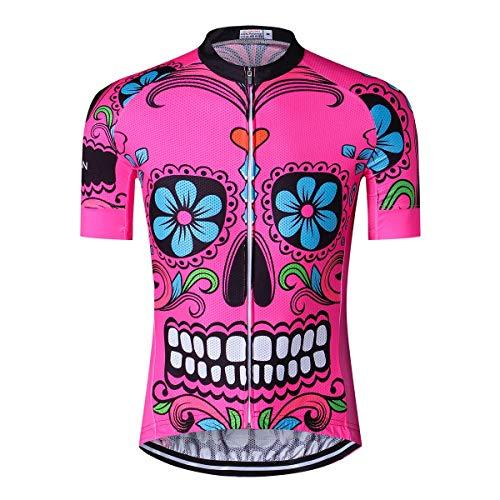 Men's Cycling Jersey Men Short Sleeve Bike Shirt Tops, M-XXXL