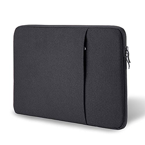 ProElife 12-12.5 Inch Laptop Sleeve Case Cover Canvas Tablet Protective Bag for 12.3 Inch Surface Pro 4 Pro 5 Pro 6 Pro 7 (2020-2017), MacBook 12/MacBook Air 11.6 Inch (Black)