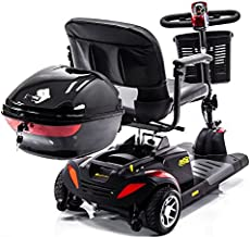 Locking Cargo Box Scooter Storage Compartment Medium Size for Pride, Golden, Drive, Challenger Mobility J1200