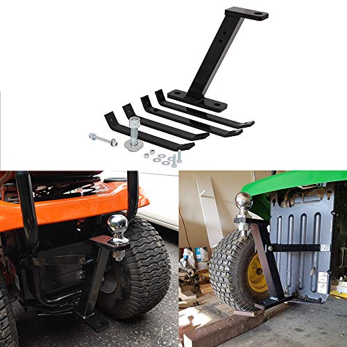 vikofan Lawn Mower Towing Hitch ZTR Riding Garden Lawn Pro Tow Mover Hitch Kit Fit for Cub Cadet John Deere Husqvarna Wheel Horse Craftsman