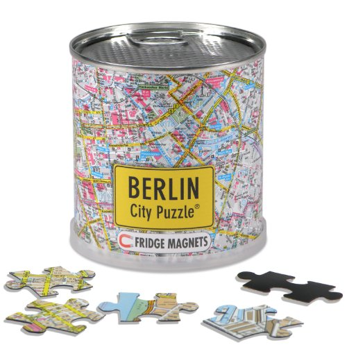 Extragoods City Puzzle Magnets - Berlin