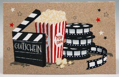 Klappkarte für Geldgeschenke 2239-046 Kino-Gutschein